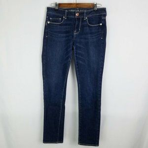 American Eagle Mid Rise Skinny Jeans